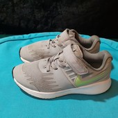 Легкие кроссовки Nike Run, ориг. Индонезия, разм. 29,5 (18 см по бирке, реально 19). Сост. хорошее!
