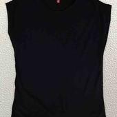 футболка 3хл без рисунка чорная