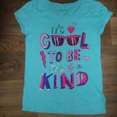 Красивенькая футболка на девочку 8-9лет