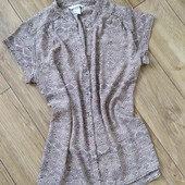 нарядная шифоновая блузка