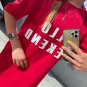 платье футболка длинная туника цвет на выбор