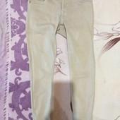 Эксклюзивные светло бежевые скинни джинсовые стречь. m. Лотов много