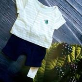 Модный ромпер обманка на новорожденного. Marks & Spencer.