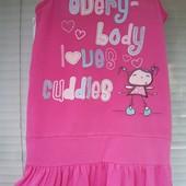 Милое фирменное платье на 8-9лет