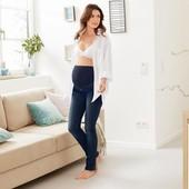 Уютные качественные джинсы беременным,моделируют фигуру, Tchibo(Германия), р. наши: 44-46 (38 евро)