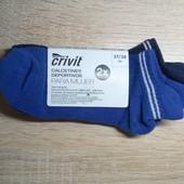 Комплект 2 шт женские короткие спортивные носки Crivit Германия размер 37/38