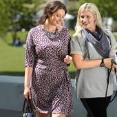 Корректирующее платье из ткани джерси , рукав 3\4 от Tchibo(германия) размер 52 евро=58-60