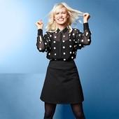 Трикотажная джерси юбка из органического хлопка от Tchibo(германия) размер 44 евро=50-52