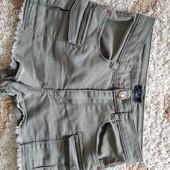 Джинсовые шорты M&Co, цвет хаки, девочке 10-11 лет, рост 146 см