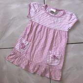 Стоп ❤ Фирменное коттоновое платье для девочки,до года❤ Много лотов!