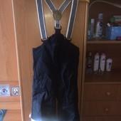 брюки, комбинезон, на осень, р. 3-4 года 110 см, H&M.. состояние отличное