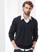 ⚙ Елегантний светр-пуловер з V-подібним вирізом, Tchibo (Німеччина), рр. наші: 56-58 (XL євро)