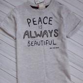 Одним лотом : футболка фирменная h&m(с нюансом) + бриджи на мальчика g.mirano