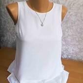 Базовая блуза с юбкой в новом состоянии,размер S-M.