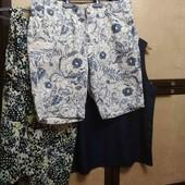 летний лот шорты и 2 блузки- маечки
