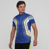 Мужская синяя вело футболка crivit, размер l