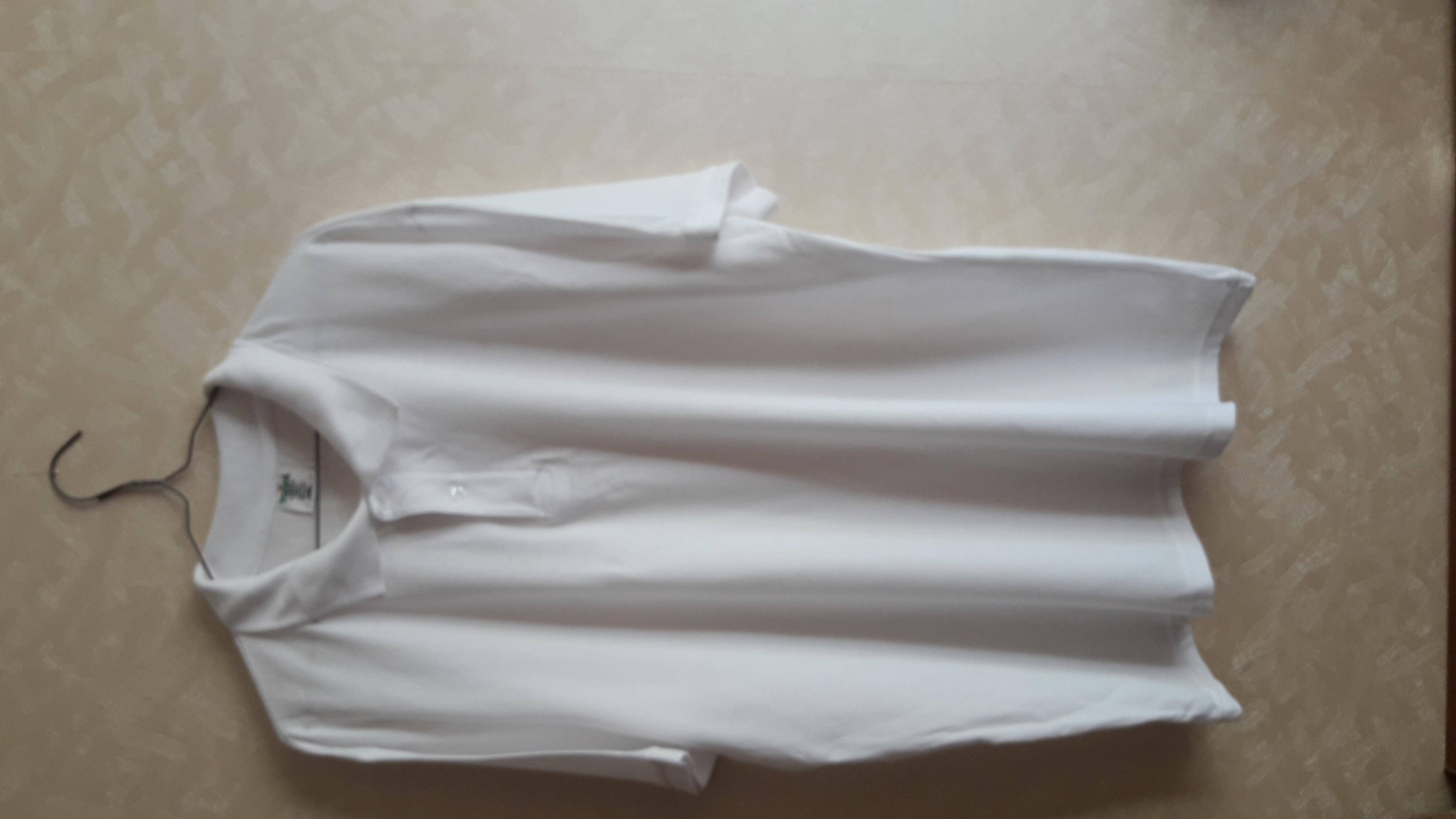 Поло чоловіче 170-180g р-р XXL колір білий