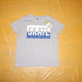 р. 134-140, модная футболка хлопок Pepperts, Германия