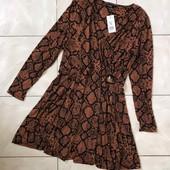 Стоп,бирки,новое, большой размер❤ Фирменнное трикотажное платье для пышной леди,54/58❤ Много лотов!