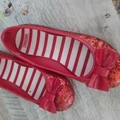 Красивые туфельки стелька 17