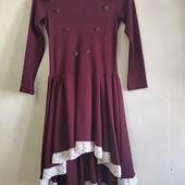 Школьное платье mi-mi-So. Разм. 140. Состояние новой вещи.