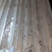 """Красивенная тюль """"арка"""" на широкое окно, 300*165"""