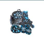 Роликовые коньки набор чехия tempish monster baby skate р.30-33/19,5-23см