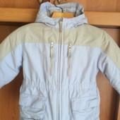 Куртка, на осень, тонкая, внутри флис, р. 2 года 92 см, Lands' end. сост. отличное