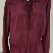 Лёгкая шифоновая блуза Lindex