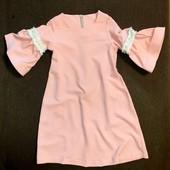 Нарядные платья для девочек 116 и 128рр