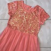 Стоп,оно шикарно!❤ в новом состоянии-Фирменное нереально красивое платье,10/12 лет❤Много лотов!