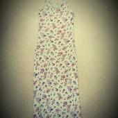 Красивенное платье-майка в пол