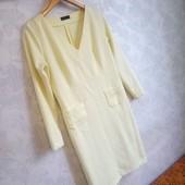 Ярко лимонное платье