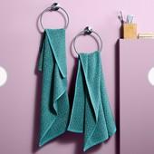 Жаккардовое махровое полотенце от Tcm Tchibo, Германия размер 140 * 70 см