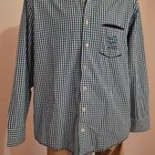 Собираем лоты!!!Мужская рубашка, размер Xl/43/44