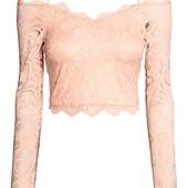 Кружевная блуза от Н&М. Размер 40 евро