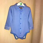 Рубашка-боді на вік 9-12 місяців