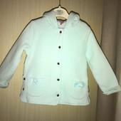 Бавовняне пальто-жакет на вік 2-3 роки