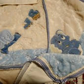 Шикарнейшее одеялко и конвертик для выписки