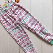А55. Флисовые пижамные штаны Польша р.116