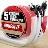 Захист протектор кабелів на підлозі X-Protector з Сша. Ідеально в офіс чи додому