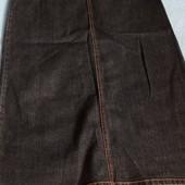 Юбка джинсовая макси 14 р