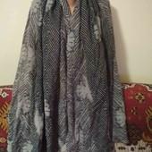 шарф палантин 50% шерсть