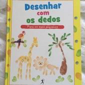 Книга для обучения рисования пальчиками для самых маленьких