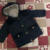Курточка стеганная 6-9 мес