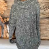Вау! Тёпленький мягусенький свитерок размер 54/56