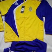 Спортивный костюм Adidas сборная Украины. размер 44-48 носили на 168+++