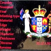 №10 монета Новая Зеландия 20 центов, 2008