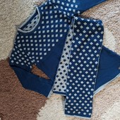 Платье, туника с шарфиком на 4-5 лет состояние хорошее!