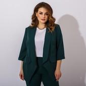 костюм тройка жакет брюки и блуза, костюм 2021, костюм офис, деловой костюм